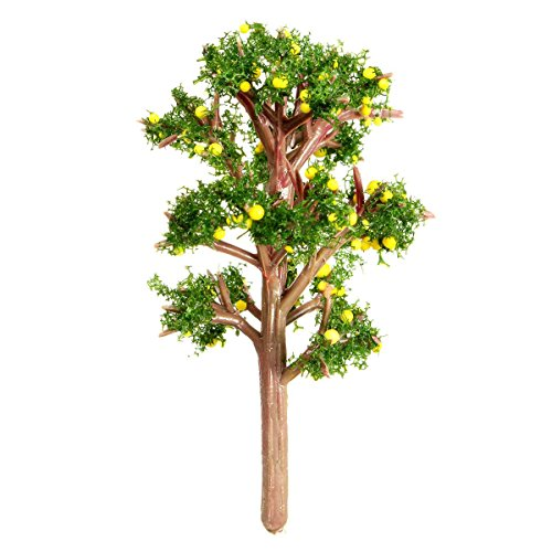 KINGSO Miniature Emulation Orange Tree Moss Bonsai Micro Landscape DIY Craft Garden Ornament