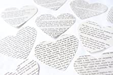 buy Lord Of The Rings Extra Large Recycled Book Wedding Table Confetti Size Approx 74 Mm (3 Inches) Wide - Available In Packs Of 25 - 300