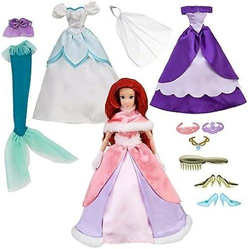 Disney (디즈니)The Little Mermaid (리틀 머메이드) Ariel Boutique Set 돌 인형 피규어(병행수입)-