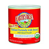 Earth's Best Organic, Infant Formula with Iron, 23.2 Ounce