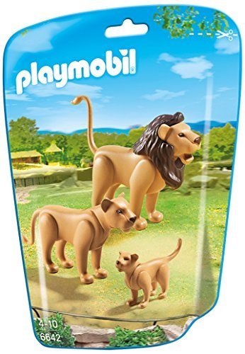 PLAYMOBIL Lion Family Building Kit - 1