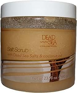 Dead Sea Salt Scrub & Coconut Oil 23.98 Oz