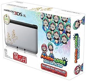 Nintendo 3DS XL, Silver - Mario & Luigi Dream team Limited Edition from Nintendo Of America