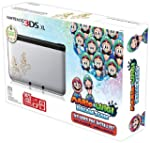 Nintendo Silver 3DS XL with Mario & L...
