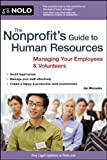 img - for Nonprofit's Guide to Human Resources, The book / textbook / text book