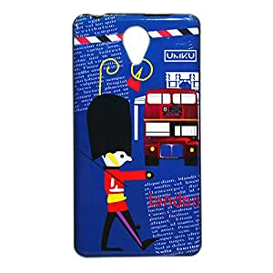 ksc sales New Rubber Finish Printed Silicone Soft Back Case Cover For Micromax Canvas Q417