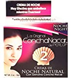 Perlop Concha Nacar Night No. 2 2 oz - Crema de Noche Natural