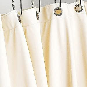 mildew resistant shower curtain liner 70 x 72 off white weighted bottom sports. Black Bedroom Furniture Sets. Home Design Ideas