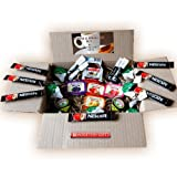 Coffee and Breakfast Essentials One Week Box - Nescafe Original Sachets, Semi Skimmed Milk, Assorted Jams, Marmite Sachets, Nutella Sachet & Sugar - Great for Holidays, Festivals, Camping - By Moreton Gifts