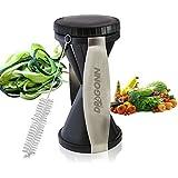 DRAGONN® #1 Rated Spiral Slicer Spiralizer Complete Bundle - Vegetable Cutter - Zucchini Pasta Noodle Spaghetti Maker