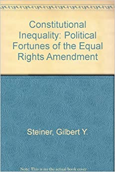 a review of the equal rights amendment era On march 22, 1972, the senate passed the equal rights amendment to the united states constitution, which proposed banning discrimination based on gender.
