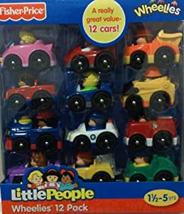 Fisher-Price Little People Wheelies Vehicle 12-Pack