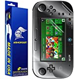 ArmorSuit MilitaryShield - Nintendo Wii U GamePad Screen Protector + Full Body Skin Protector / Front + Back Anti-Bubble Ultra HD & Touch Responsive Shield with Lifetime Replacement Warranty