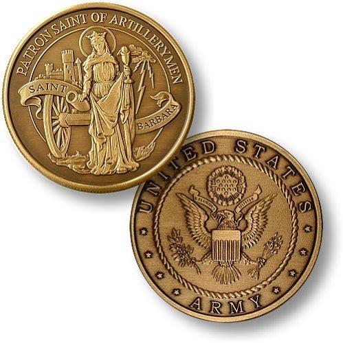 St. Barbara - Army Bronze Antique