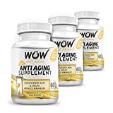 WOW Anti Aging, 60 Capsules (Pack Of 3)