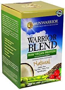 Sunwarrior Warrior Blend Protein, Natural 2.2 lbs