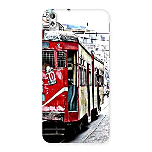 Impressive Calcutta Multicolor Back Case Cover for HTC Desire 816g