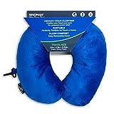 Sinomax Memory Foam U-Neck Travel Pillow, Blue