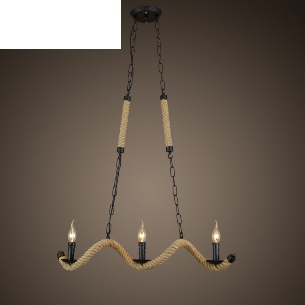 Village Style Creative Personalities Living Room Lamp Rural Industrial Wind The Chandelier A