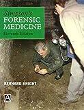 Simpson's Forensic Medicine, 11Ed (034061370X) by Knight, Bernard