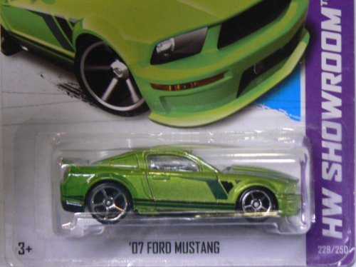 Hot Wheels 2013 Hw Showroom Then and Now '07 Ford Mustang 5 Sp 229/250 - 1