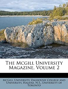 Dress Stores Toronto on Amazon Com  The Mcgill University Magazine  Volume 2  9781174848445