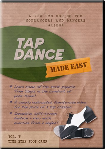 Tap Dance Made Easy - Vol 3: Time Step Boot Camp (Tap Dance Instructional Dvd compare prices)