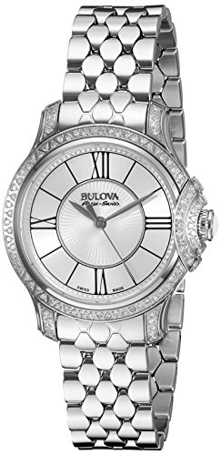Bulova-Womens-63R145-Analog-Display-Analog-Quartz-Silver-Watch