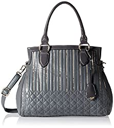 Gussaci Italy Women's Handbag (Grey) (GC227)