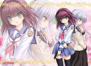 Character all-around rubber mat Angel Beats! Yuri & Angel (japan import)