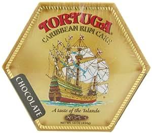 Tortuga Caribbean Chocolate Rum Cake, 16-Ounce Box