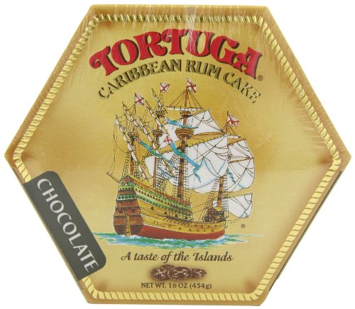 Tortuga Caribbean Chocolate Rum Cake, 16-Ounce Box