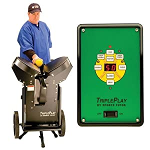 Sports Tutor Triple Play Pitching Machine (Softball) Sold Per EACH by Sports Tutor