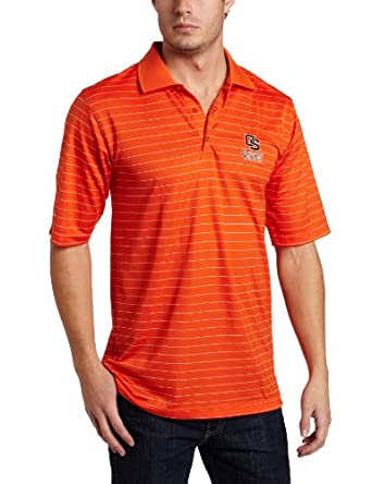 NCAA Oregon State Beavers Elevate Desert Dry Lite Polo Mens by Antigua