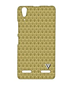 Vogueshell Flower Pattern Printed Symmetry PRO Series Hard Back Case for Lenovo A6000