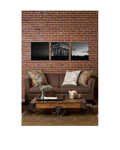 Penshaw Monument Panoramic Giclée Canvas Print Triptych As You See