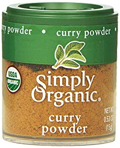 Simply Organic Curry Powder, Mini Spice, 0.53 Ounce (Pack of 6)