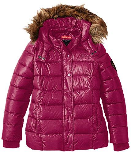 Kaporal - EMINK, Cappotto per bambine e ragazze, rosso (carmin), 16 anni (Taglia produttore: 16 anni)