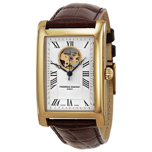 Frederique Constant Rose Gold-tone Carree Mens Watch FC-310MC4C25