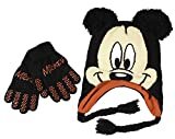Disney Mickey Mouse Winter Set - Gloves and Hat for Boys