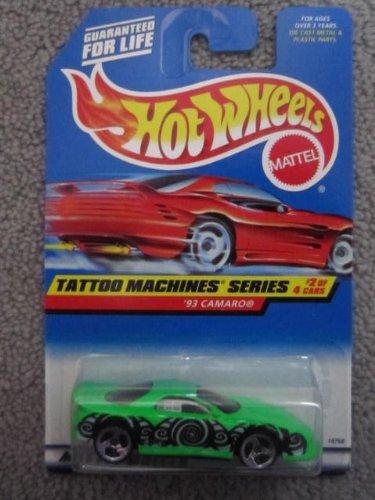 1997 Hotwheels #2 of 4 Tattoo Machines Series 93 Camaro - 1