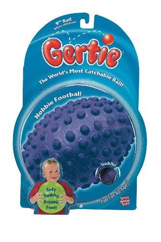 Small World Toys Gerty Balls Nobbie Football (Colors May Vary)