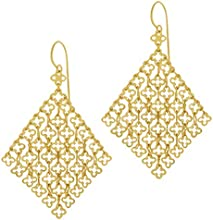 Dinny Hall 22ct Yellow Gold Plated Talitha Statement Earrings
