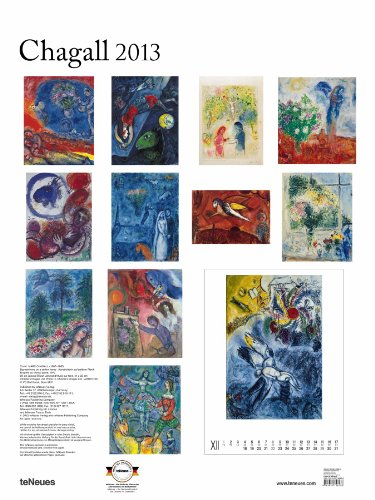 2013 Marc Chagall Super Poster Calendar (Vertical)