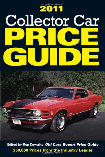 2011 Collector Car Price Guide, Ron Kowalke