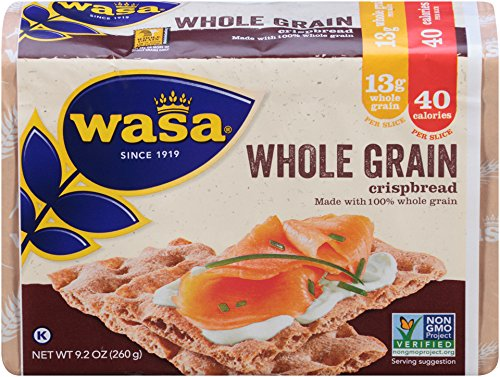 Wasa Whole Grain Crispbread, 9.2 Ounce Packages (Pack of 12) (Vasa Bread compare prices)