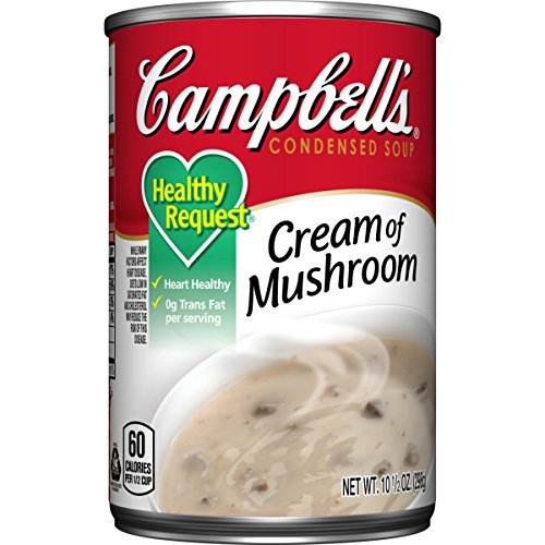 Campbell's Healthy Request Cream of Mushroom Soup, 10.75 Ounce (Campbell Cream Of Mushroom compare prices)