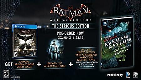 Batman: Arkham Knight - The Serious Edition (Comic Bundle) - PS4