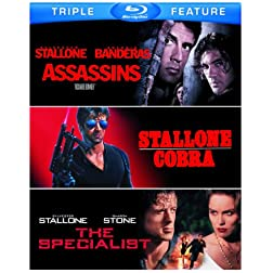 Assassins / Cobra / Specialist [Blu-ray]