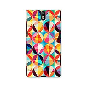 ArtzFolio Geometric Ornament : OnePlus One Matte Polycarbonate ORIGINAL BRANDED Mobile Cell Phone Protective BACK CASE COVER Protector : BEST DESIGNER Hard Shockproof Scratch-Proof Accessories